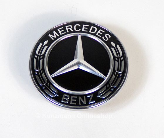 Mercedes benz e class w213 s213 black bonnet emblem logo for Mercedes benz usa customer service phone number