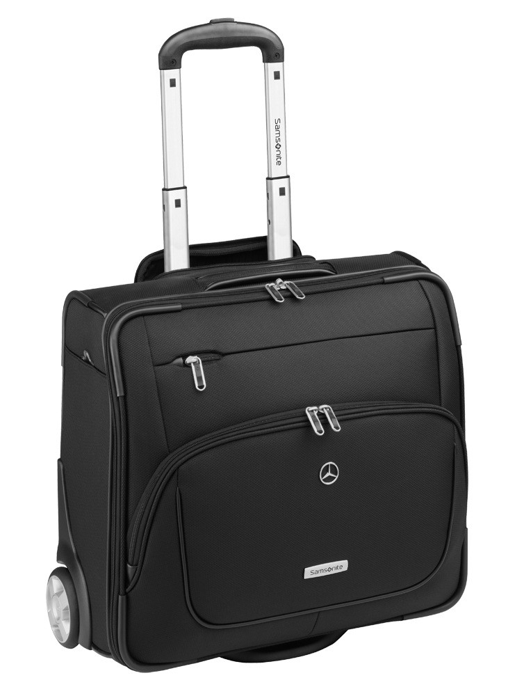 mercedes benz samsonite x pression pilot suitcase bag b66951543 genuine new. Black Bedroom Furniture Sets. Home Design Ideas