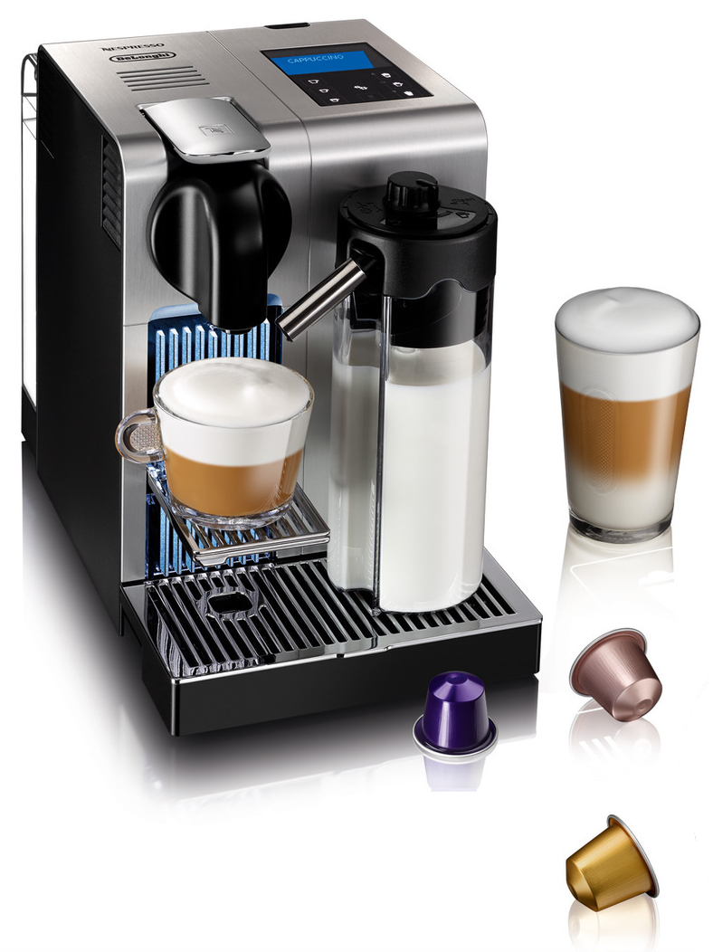 DeLonghi Nespresso Lattissima Pro EN750.MB Coffee Machine Kitchen Maker Silver 8004399327900 eBay