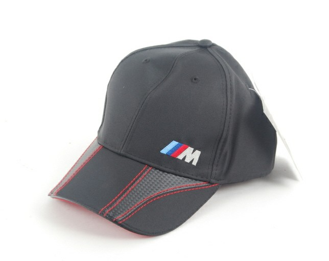 bmw m fashionable cap black with silver metal closure bmw. Black Bedroom Furniture Sets. Home Design Ideas