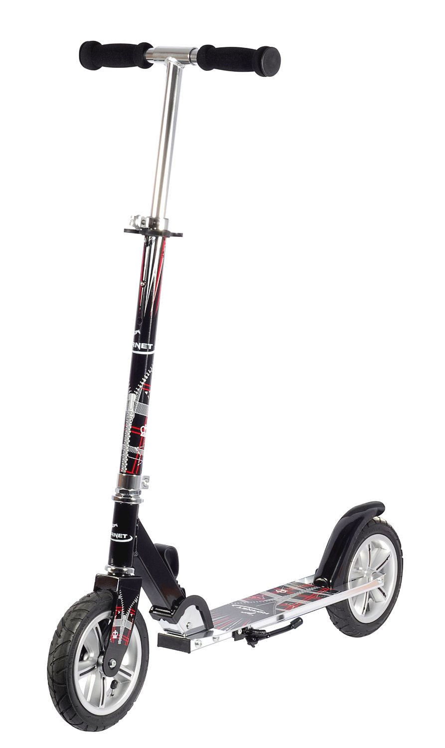 hudora hornet alu scooter big wheel air roller 205mm pneumatic tyres genuine ebay. Black Bedroom Furniture Sets. Home Design Ideas