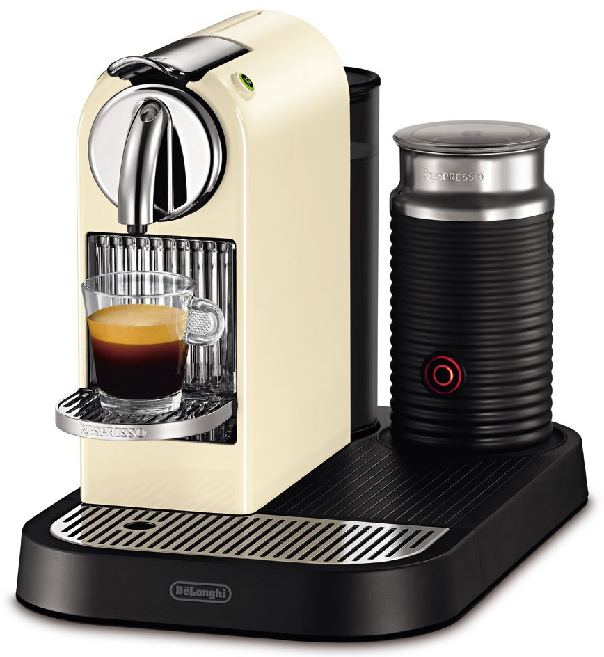 delonghi nespresso en 266 cwae aeroccino capsule coffee. Black Bedroom Furniture Sets. Home Design Ideas