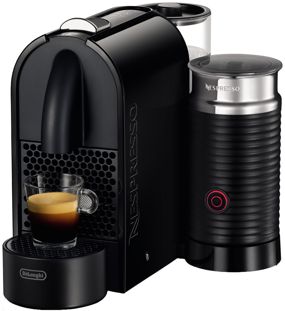 Nespresso Coffee Maker 220 Volts : Genuine New DeLonghi Nespresso U EN 210.BAE Black Aeroccino Capsule Machine