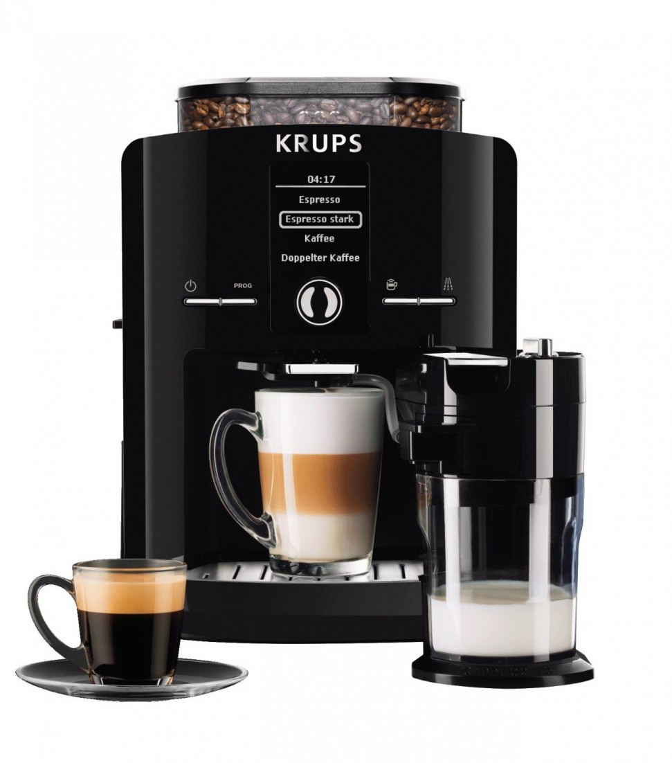 krups ea8298 one touch cappuccino automatic coffee machine. Black Bedroom Furniture Sets. Home Design Ideas