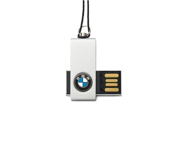 bmw usb stick flash drive 16gb with lanyard 80292358820. Black Bedroom Furniture Sets. Home Design Ideas