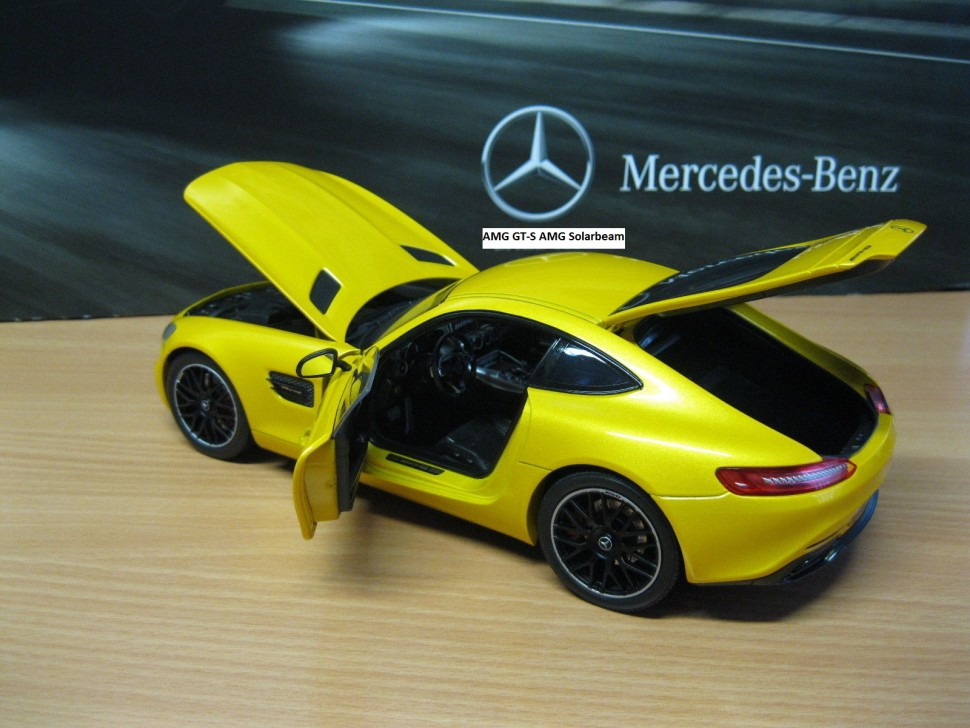 Mercedes benz norev amg gt s solarbeam model car 1 18 for Mercedes benz usa customer service phone number