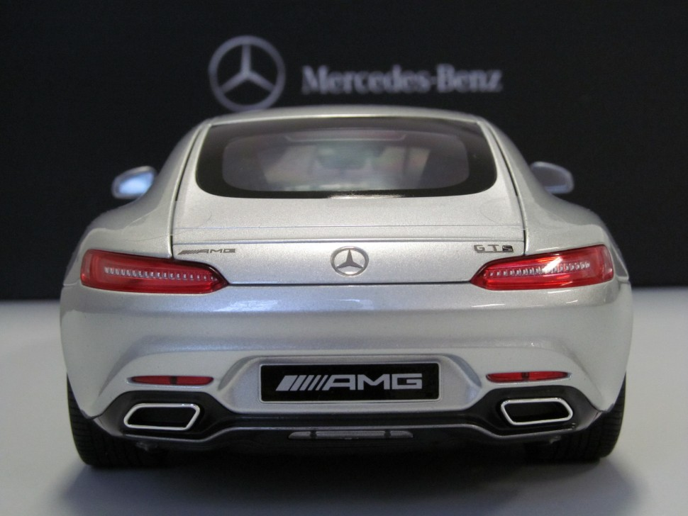 Mercedes benz norev amg gt s iridium silver model car 1 18 for Mercedes benz usa customer service phone number