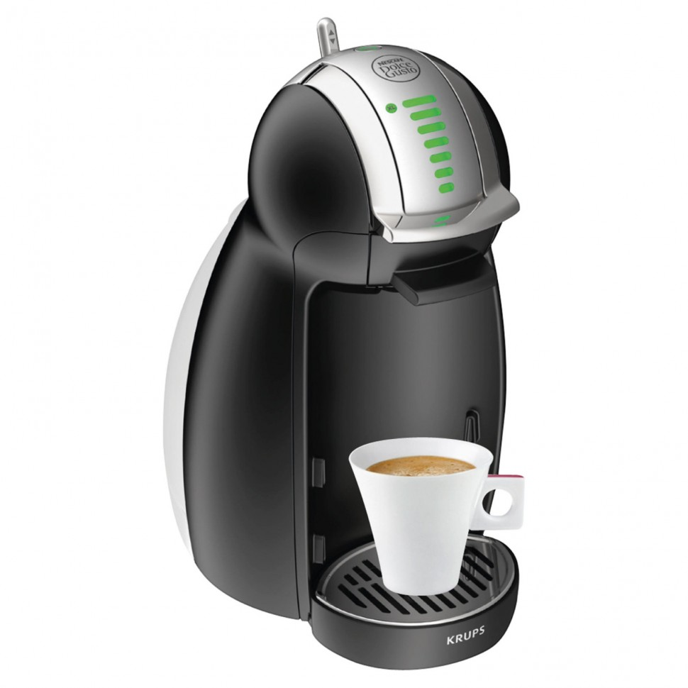 Krups Coffee Maker Capsules : Krups KP1608 Nescafe Dolce Gusto Genio2 Capsule Coffee Machine Black Genuine NEW eBay