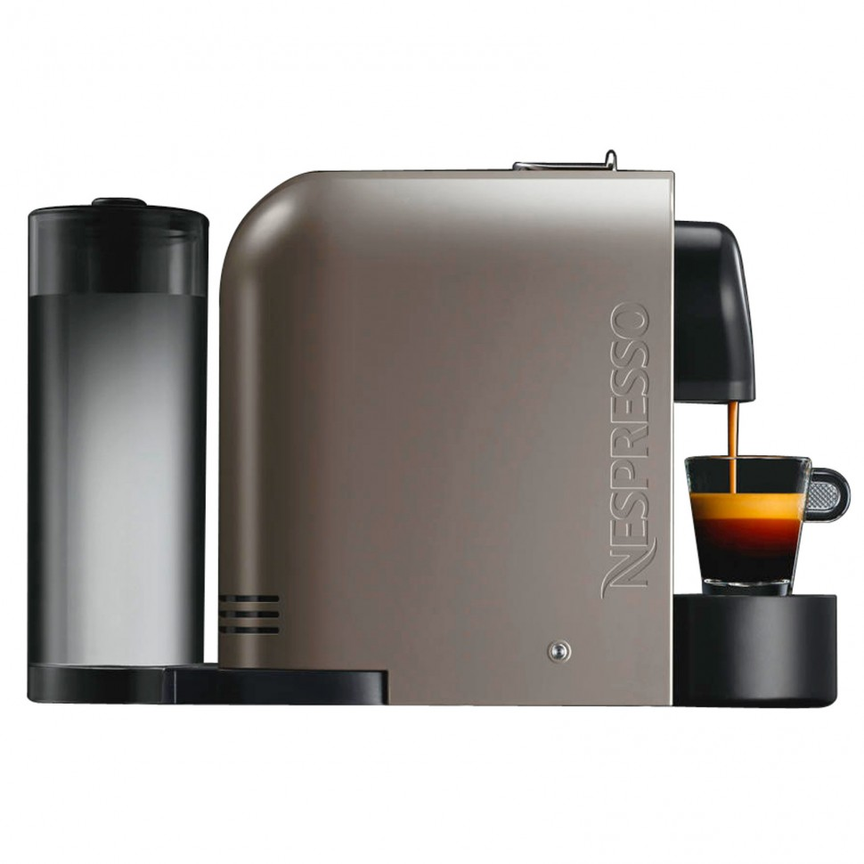 krups xn250a nespresso u pure gray xn 250a capsule coffee machine genuine new 10942214007 ebay. Black Bedroom Furniture Sets. Home Design Ideas