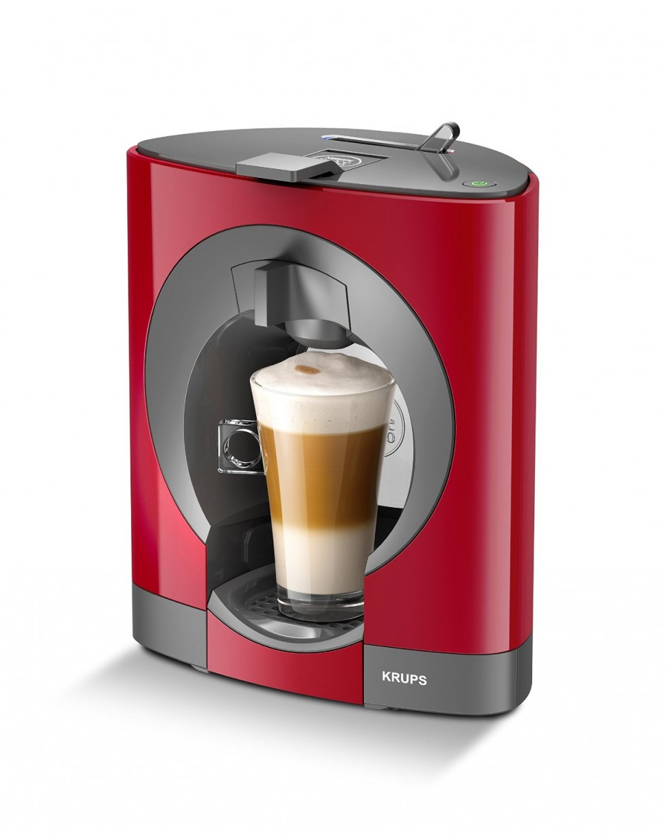krups kp1105 nescafe dolce gusto oblo capsule coffee machine red genuine new ebay. Black Bedroom Furniture Sets. Home Design Ideas