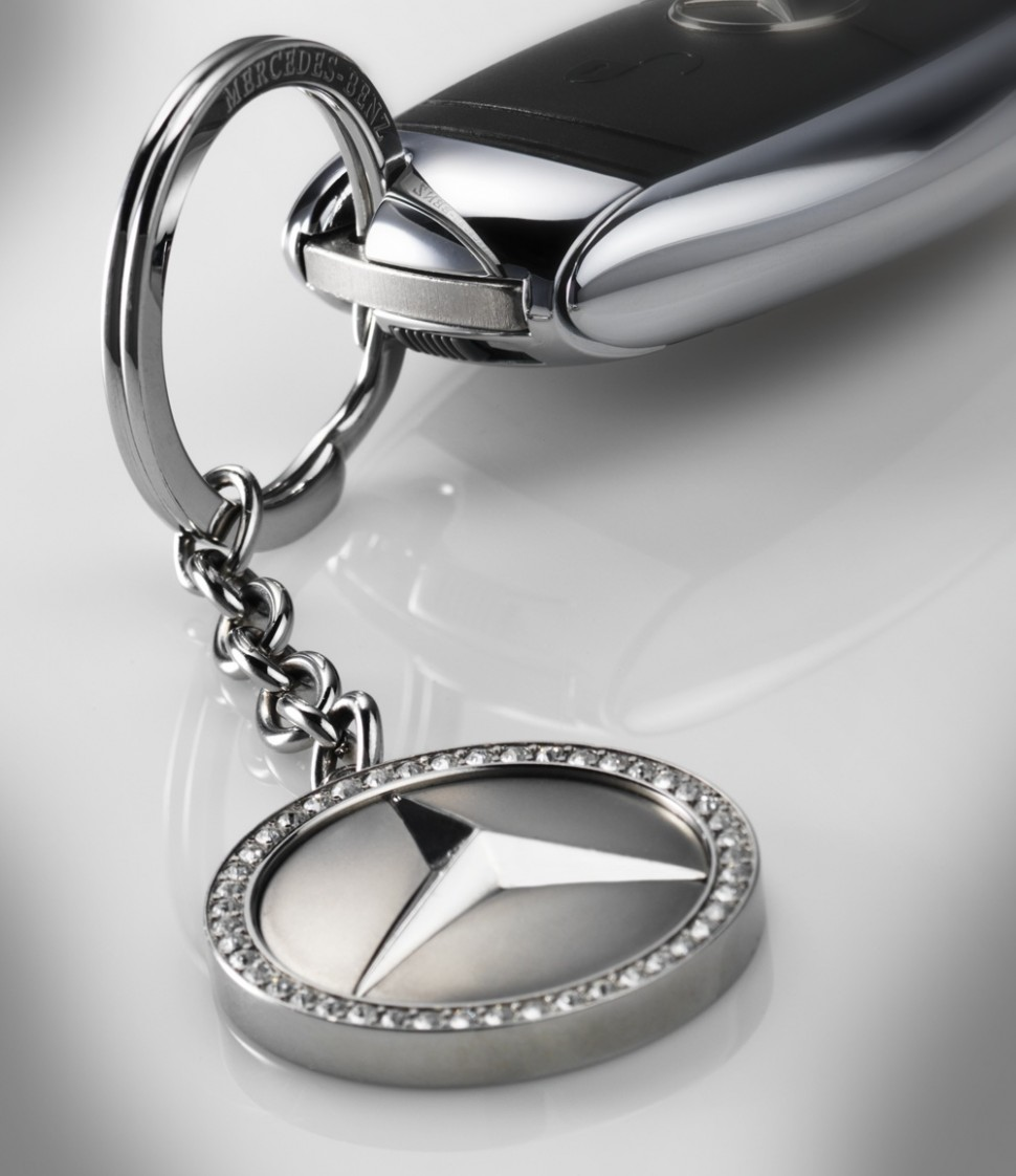 genuine mercedes benz keyring key rings kiev swarovsky. Black Bedroom Furniture Sets. Home Design Ideas