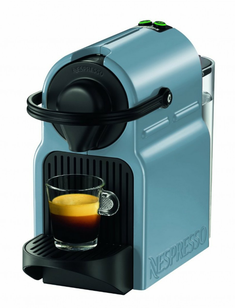 krups xn1004 nespresso inissia capsule coffee pod machine sky blue genuine new ebay. Black Bedroom Furniture Sets. Home Design Ideas