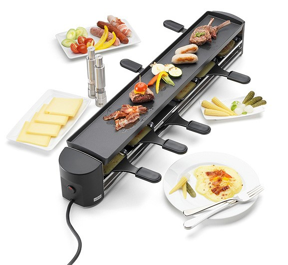 stockli cheeseboard six raclette and non stick coated grill genuine new ebay. Black Bedroom Furniture Sets. Home Design Ideas