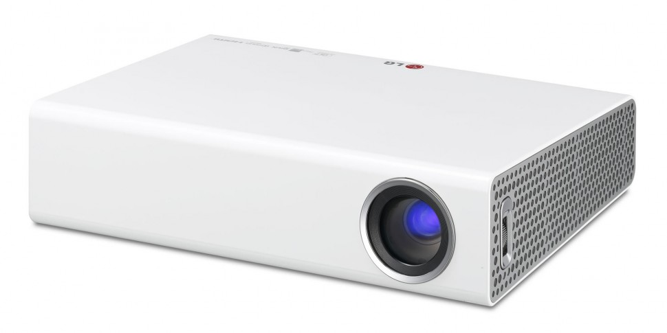 Lg pa70g micro portable dlp led projector 700 ansi lumens for Micro dlp projector