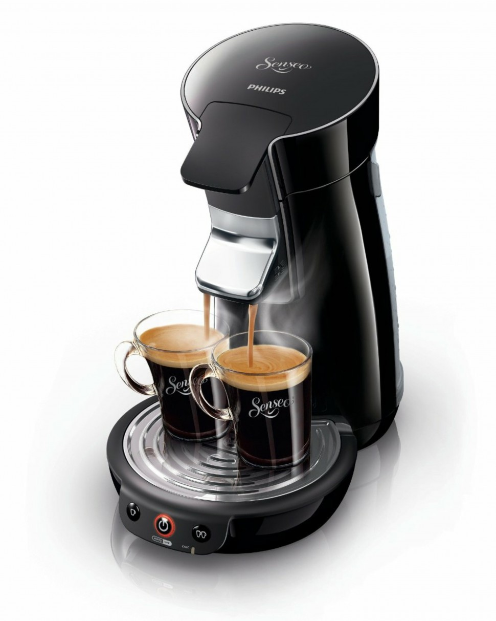 philips senseo hd7825 60 viva cafe capsule coffee machine black genuine new ebay. Black Bedroom Furniture Sets. Home Design Ideas