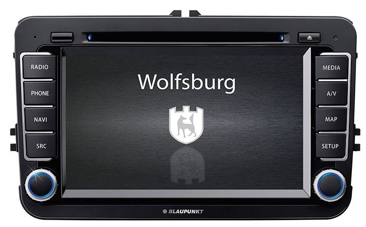 vw wolfsburg blaupunkt navigation system navi bluetooth. Black Bedroom Furniture Sets. Home Design Ideas
