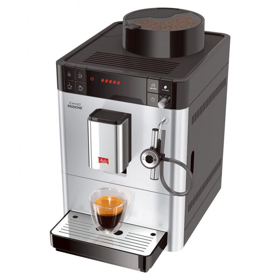 melitta f53 0 101 caffeo passione automatic coffee machine silver genuine new. Black Bedroom Furniture Sets. Home Design Ideas