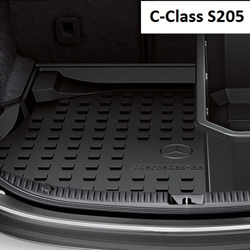 Mercedes benz black trunk tray flat for c class t model for Mercedes benz c class t model