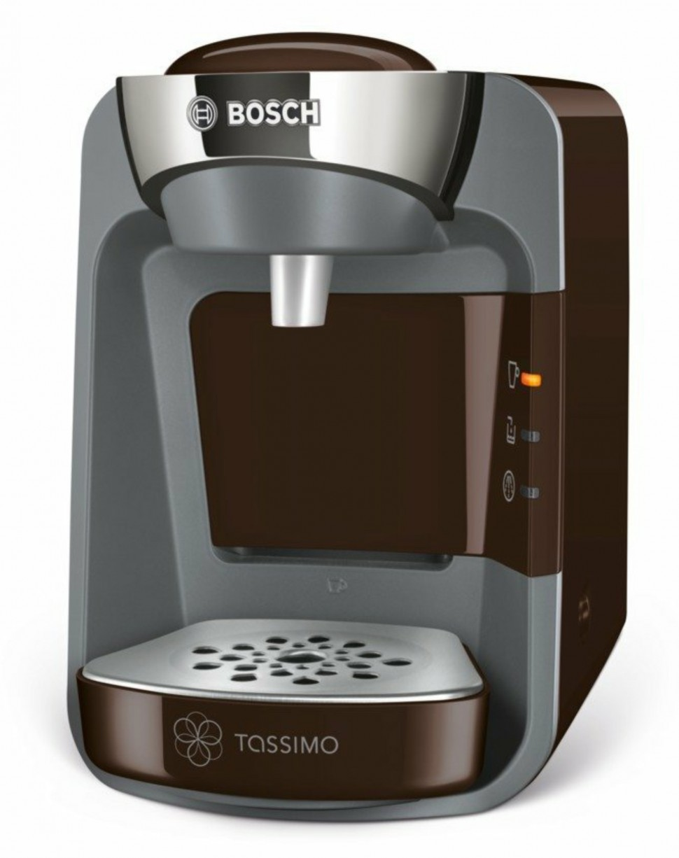 bosch tas3207 tassimo suny capsule coffee pad machine earthy brown genuine new ebay. Black Bedroom Furniture Sets. Home Design Ideas