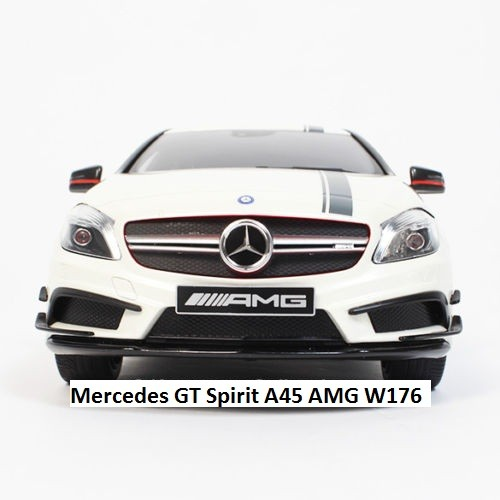 Mercedes GT Spirit Model Car 1:18 A45 AMG W176 White