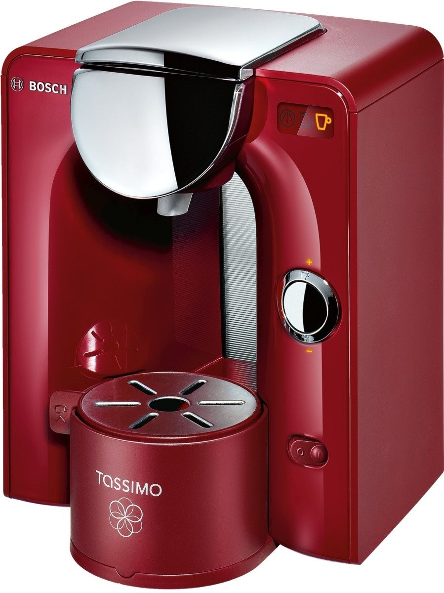 bosch tas5546 tassimo charmy capsule coffee machine brilliant red genuine new ebay. Black Bedroom Furniture Sets. Home Design Ideas