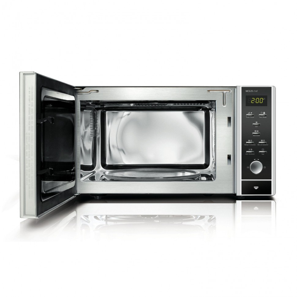 caso germany mcg25 chef microwave oven hot air convection. Black Bedroom Furniture Sets. Home Design Ideas