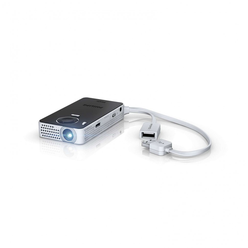 Philips picopix ppx4350 wireless projector wifi dlp for Wireless micro projector