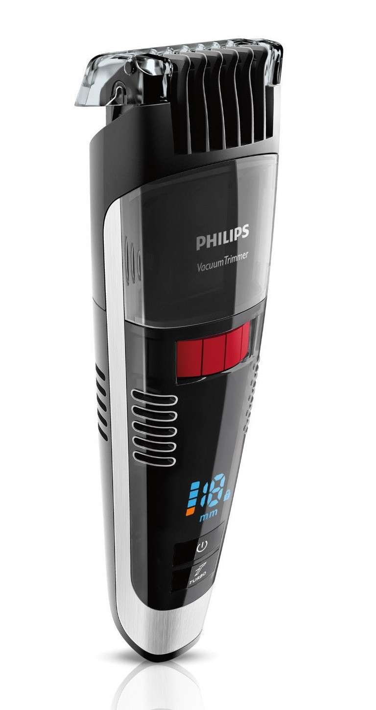 philips bt7090 32 series 7000 vacuum beard trimmer black genuine new. Black Bedroom Furniture Sets. Home Design Ideas