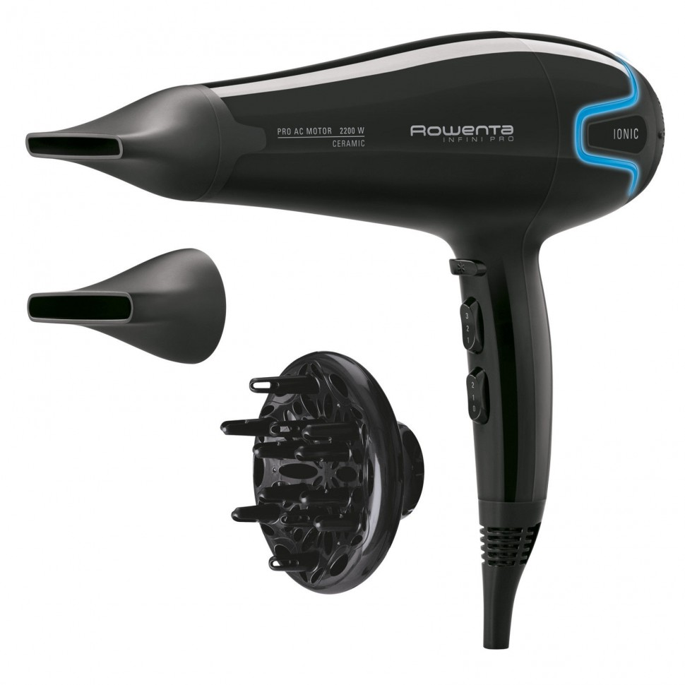 Rowenta cv 8730 infini pro hair dryer 2200w ac motor ionic for Ac motor hair dryer