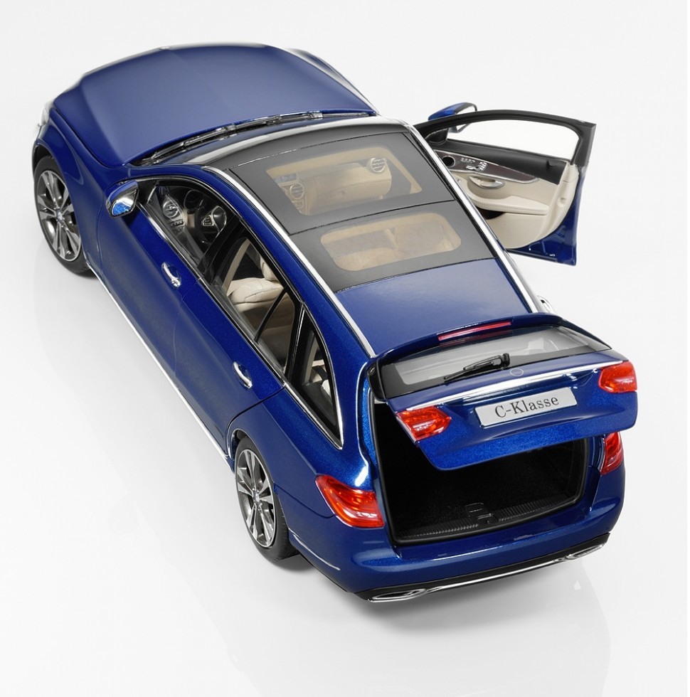 Norev mercedes benz c class s205 blue estate model car 1 for Mercedes benz usa customer service phone number