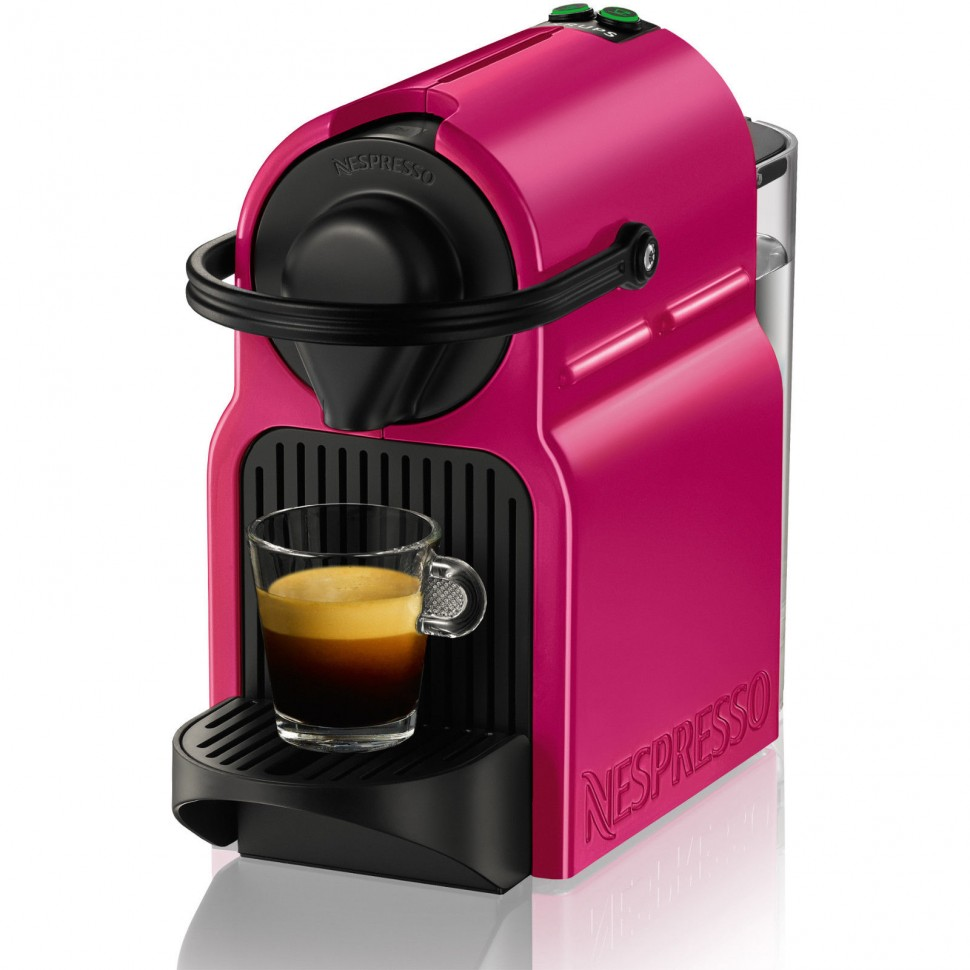 krups nespresso xn1007 inissia coffee capsule machine fuchsia genuine new ebay. Black Bedroom Furniture Sets. Home Design Ideas