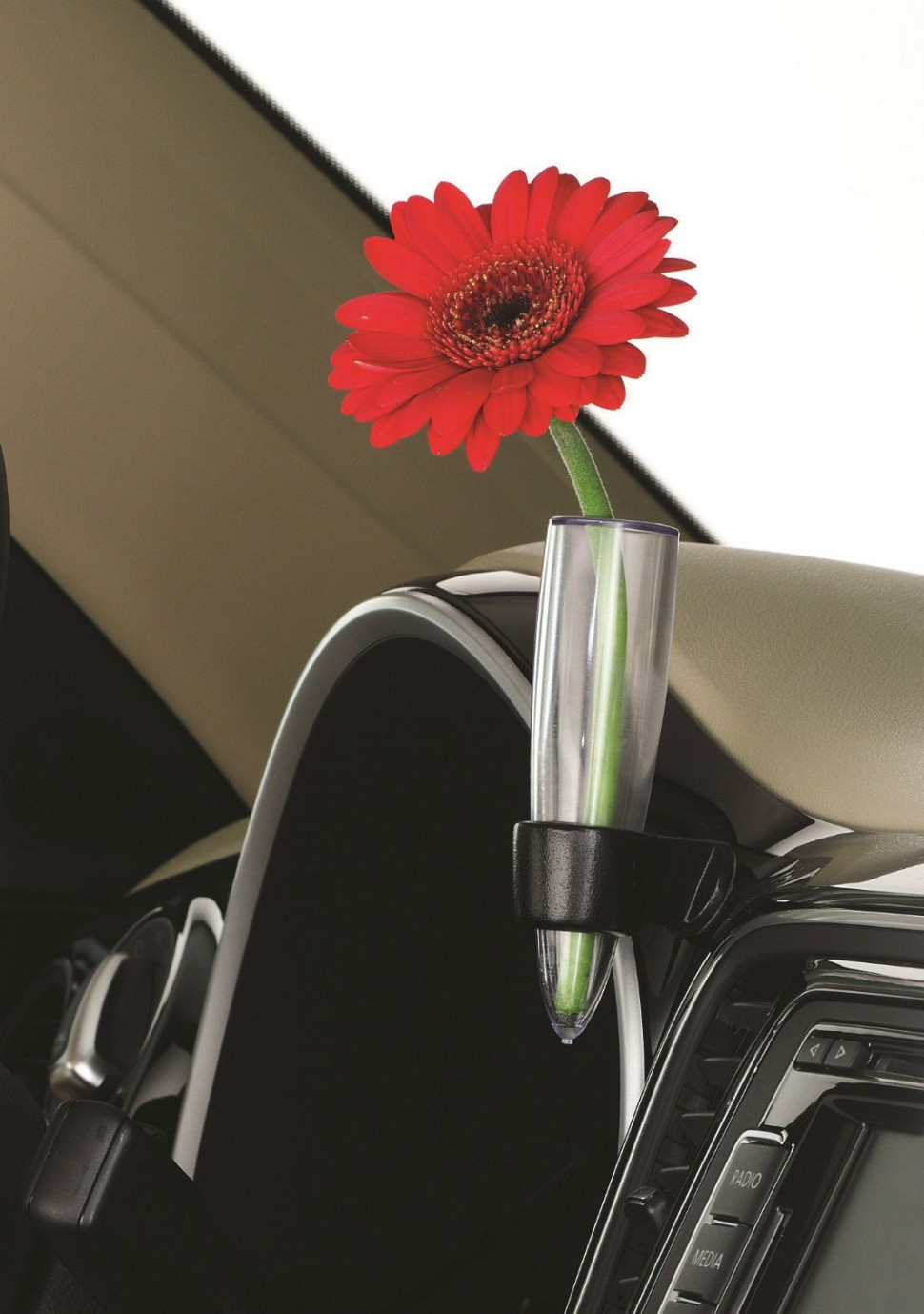 Volkswagen Beetle Dashboard Flower Vase For Lhd Vw