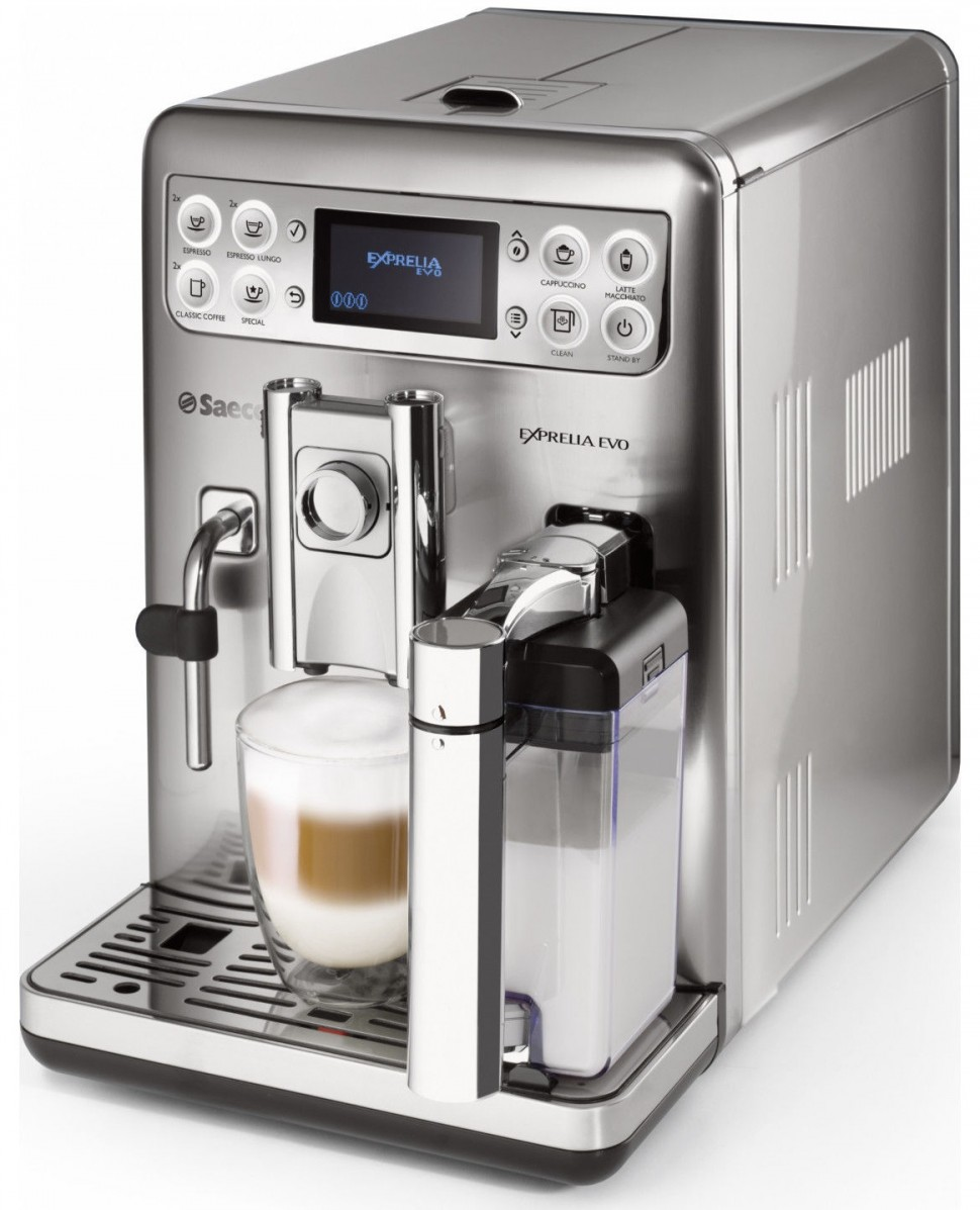 Philips Coffee Maker With Aroma Swirl Metal : Philips SAECO Exprelia Evo HD8858/01 Espresso Machine Stainless Steel Genuine eBay