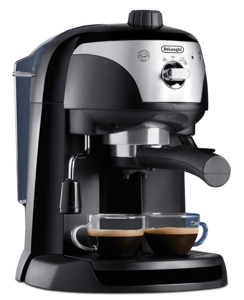 delonghi ec 221b black crema espresso machine 1100w genuine new - Delonghi Espresso Machine