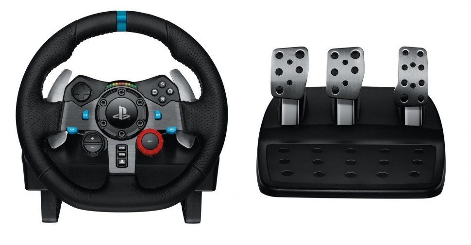 logitech g29 driving force racing wheel for ps3 ps4. Black Bedroom Furniture Sets. Home Design Ideas