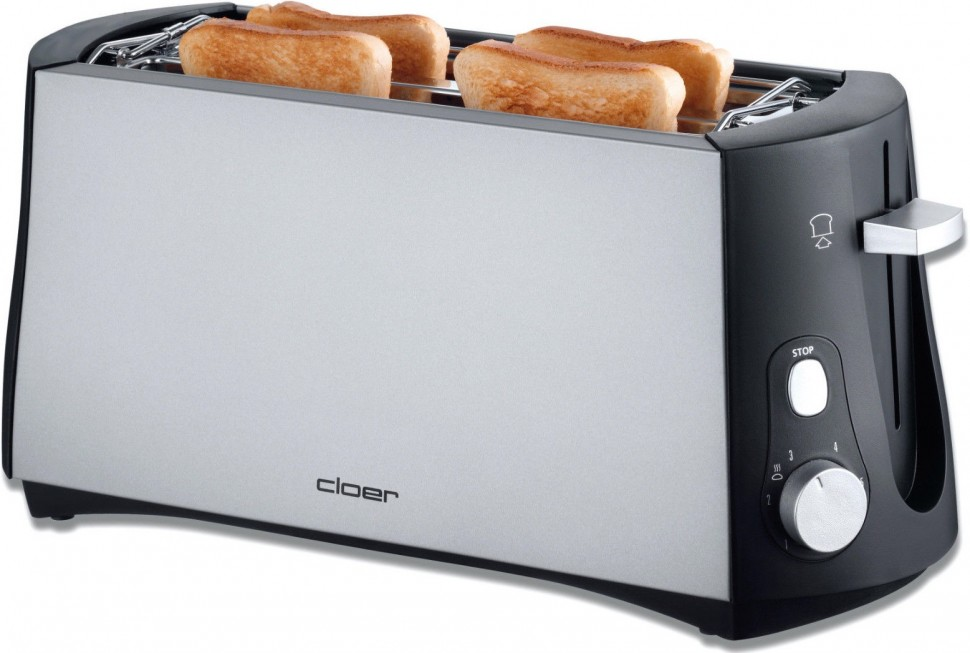 Types Of Toasters ~ Cloer slots toaster w adjustable levels of