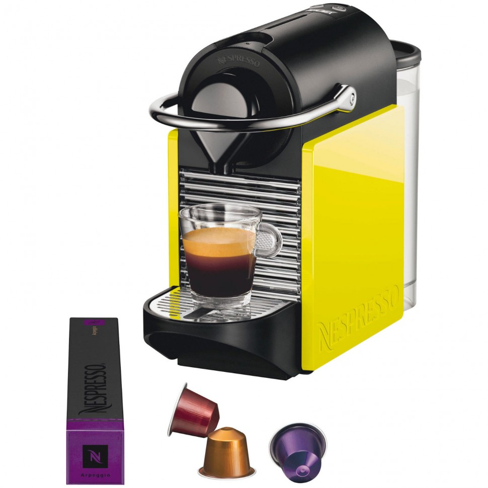 krups xn 3020 nespresso pixie clips capsule coffee machine yellow genuine new ebay. Black Bedroom Furniture Sets. Home Design Ideas
