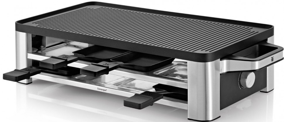 wmf lono design raclette cromargan 0415040011 1500w genuine new ebay. Black Bedroom Furniture Sets. Home Design Ideas