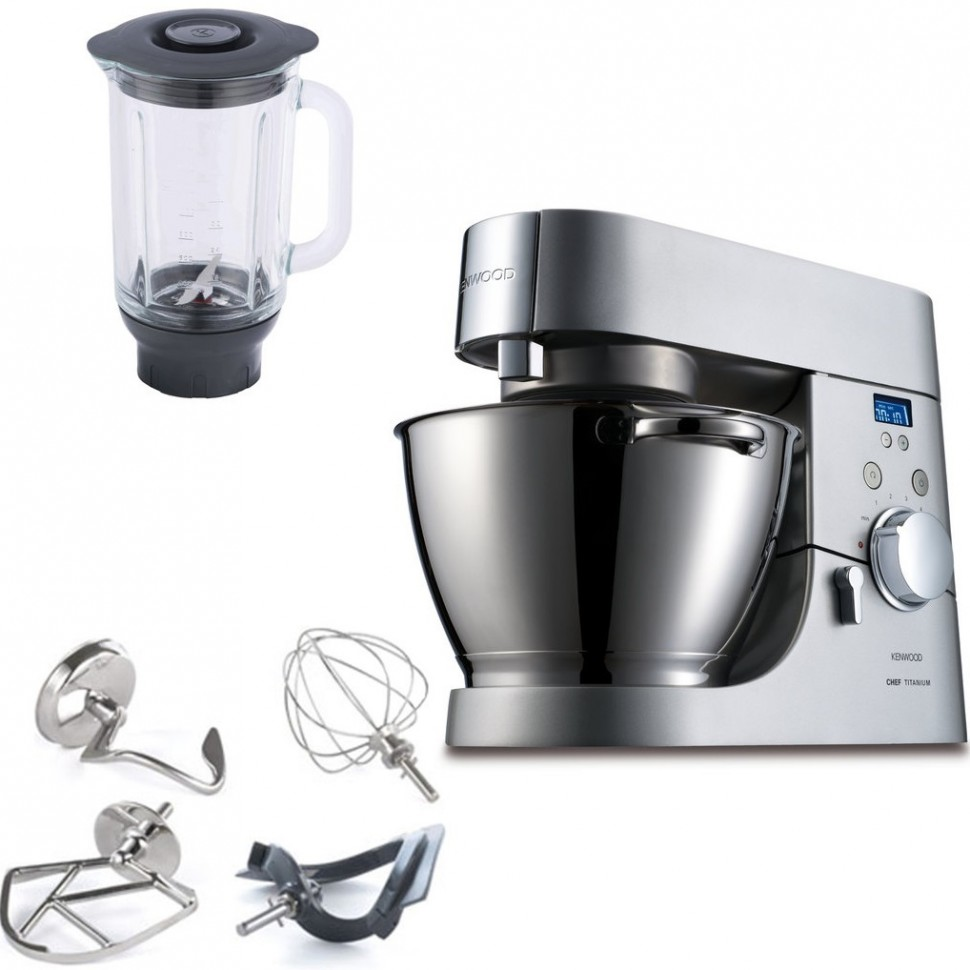 KENWOOD KMM075 Major Titanium Timer Food Processor 1500W Genuine New | eBay