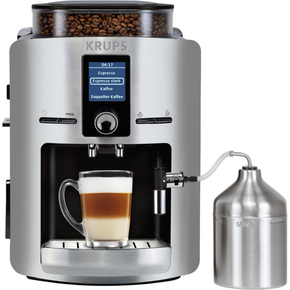 Krups ea 826e espresso fully automatic coffee machine New coffee machine