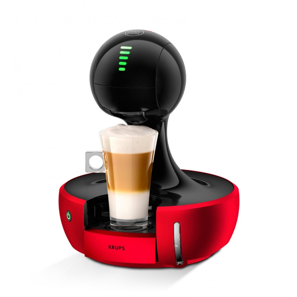krups nescafe dolce gusto drop kp3505 capsule coffee machine red genuine new ebay. Black Bedroom Furniture Sets. Home Design Ideas