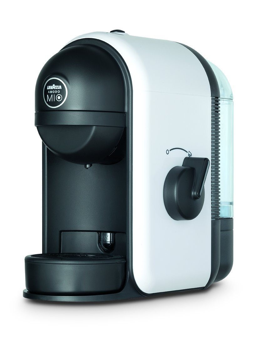 lavazza lm500 a modo mio minu white coffee capsule machine. Black Bedroom Furniture Sets. Home Design Ideas