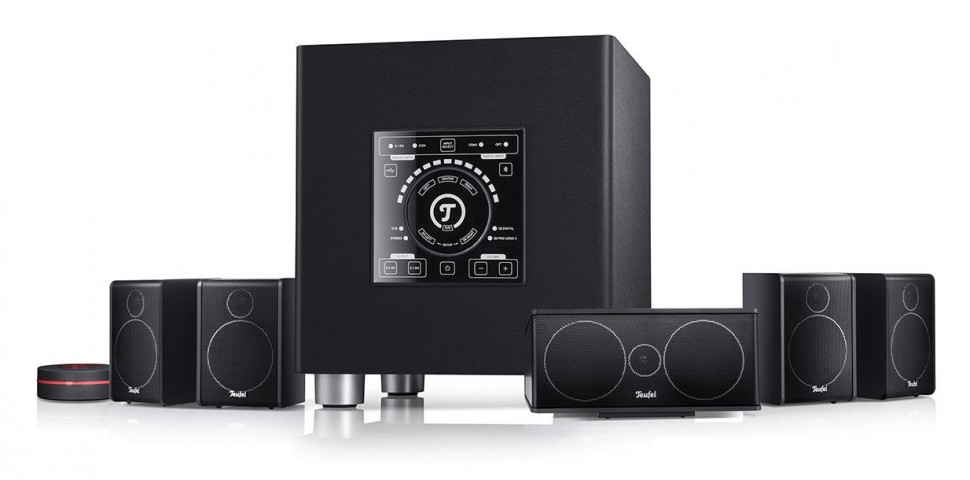 teufel concept e digital 5 1 pc sound system xl subwoofer. Black Bedroom Furniture Sets. Home Design Ideas