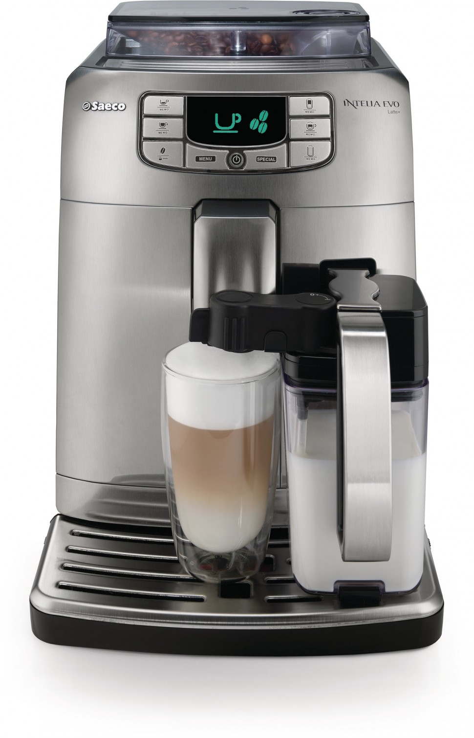 philips saeco hd8753 92 intelia evo super automatic espresso machine genuine new ebay. Black Bedroom Furniture Sets. Home Design Ideas