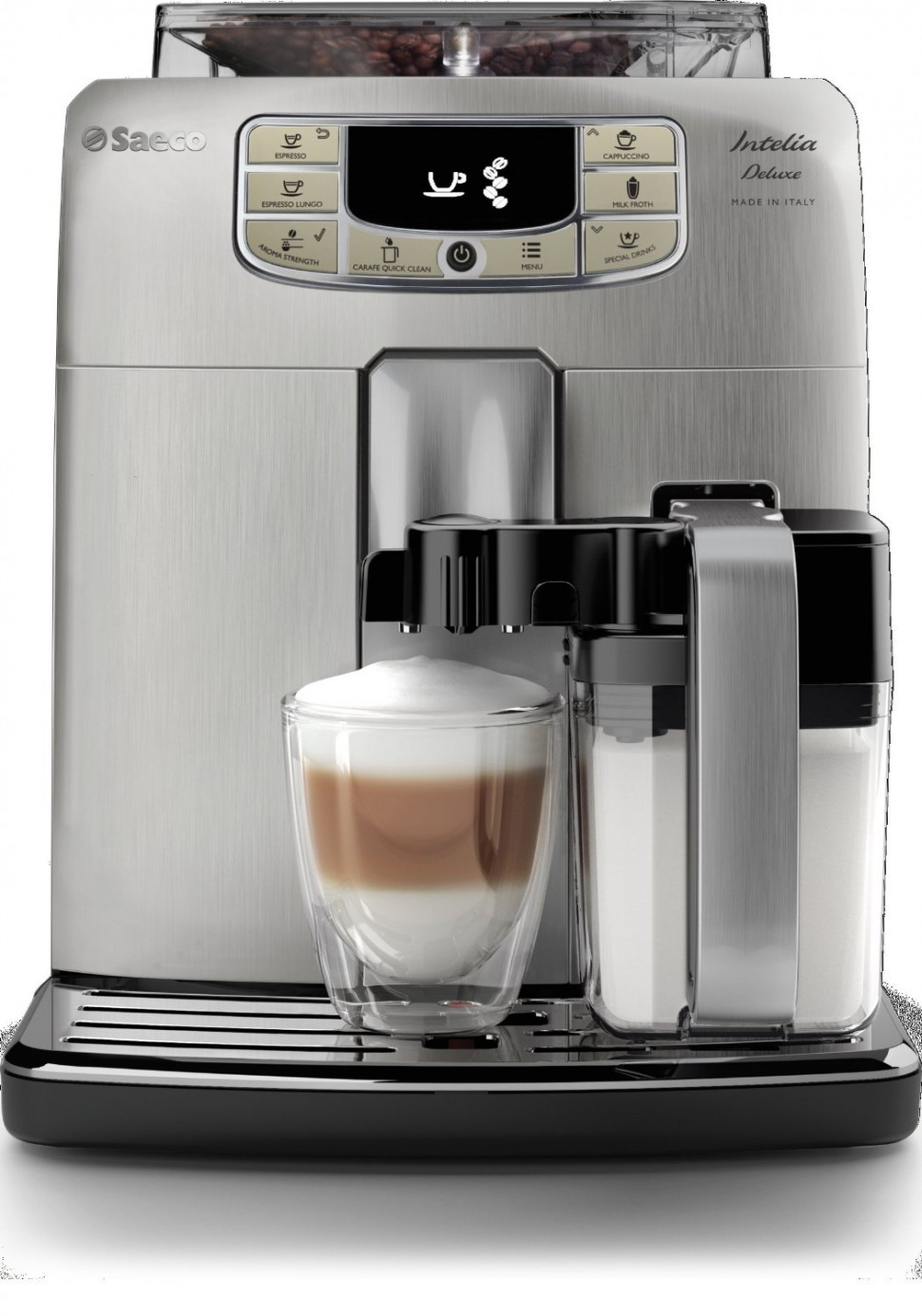 philips saeco hd8906 01 intelia deluxe super automatic espresso machine genuine ebay. Black Bedroom Furniture Sets. Home Design Ideas