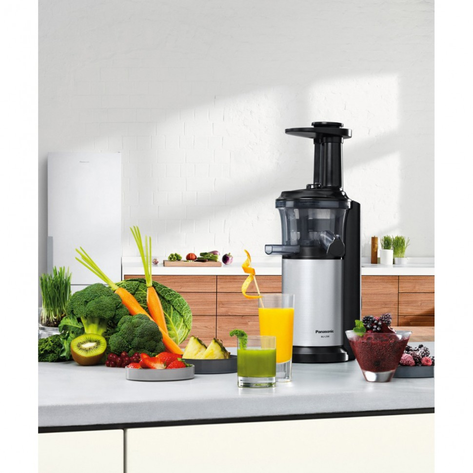 Panasonic Slow Juicer Rpm : Panasonic MJ-L500 Slow Juicer Stainless Steel Drip Stop 1,5L 150W GENUINE NEW eBay
