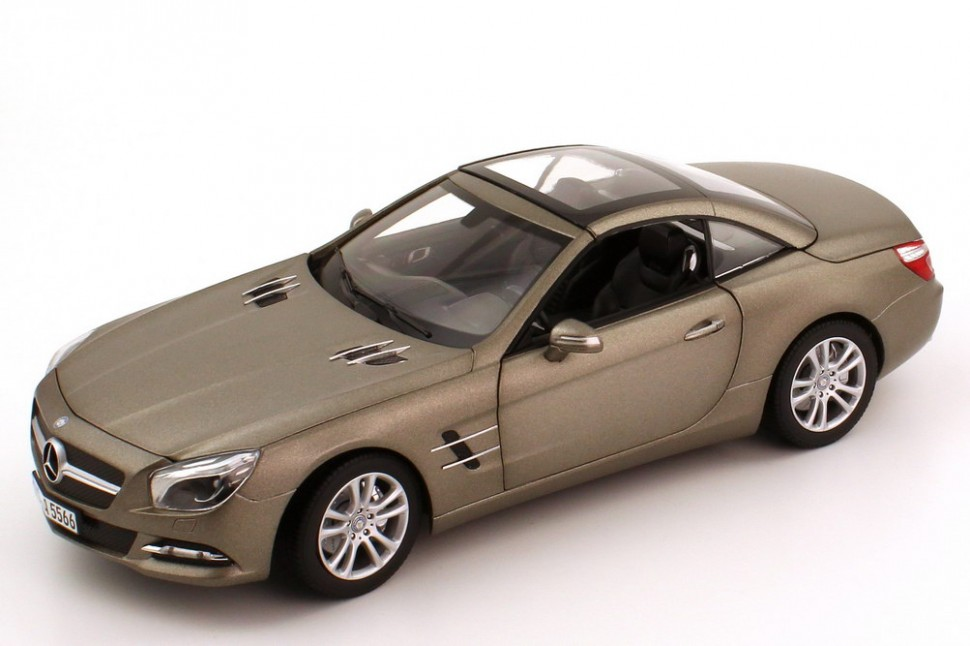 Norev mercedes benz gray sl class sl500 r231 model car 1 for Mercedes benz usa customer service phone number