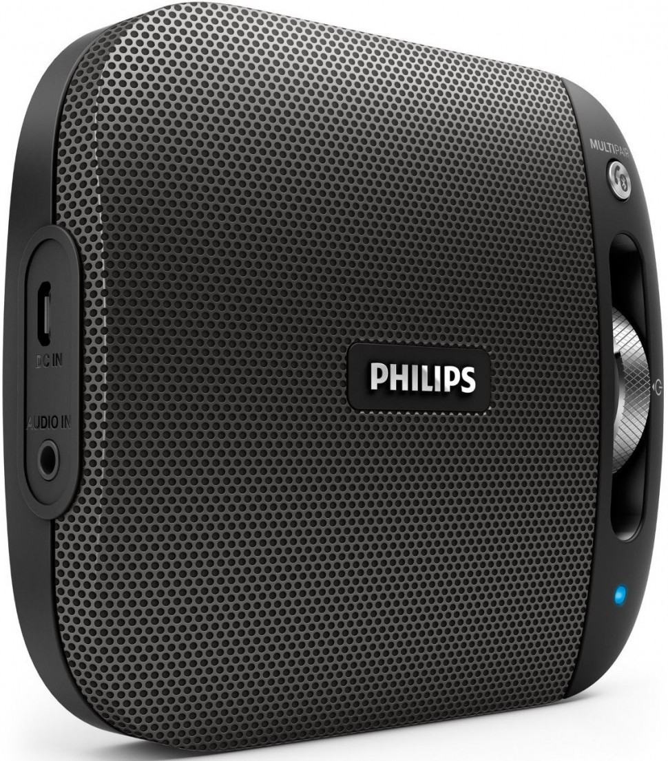 Philips Bluetooth Speaker Portable: Philips BT2600B 00 Wireless Portable Speaker Black Bluetooth Multipair Genuine