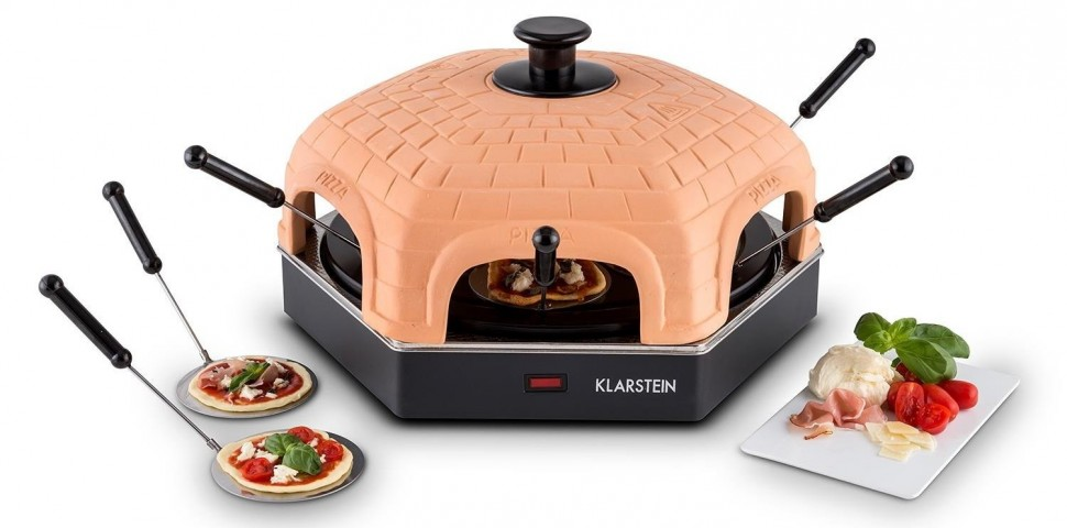 Klarstein Capricciosa Mini Pizza Oven Pizzarette For 6 ...