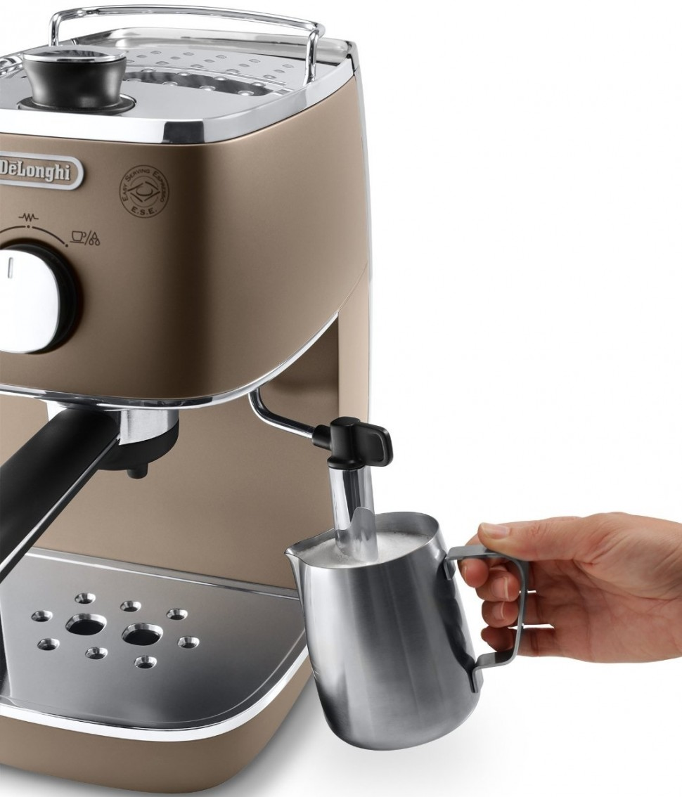 Delonghi eci 341 bz distinta espresso maker 1050w pod New coffee machine